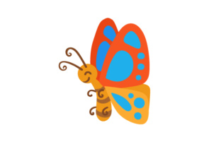 Butterfly Craft Design By Creative Fabrica Crafts