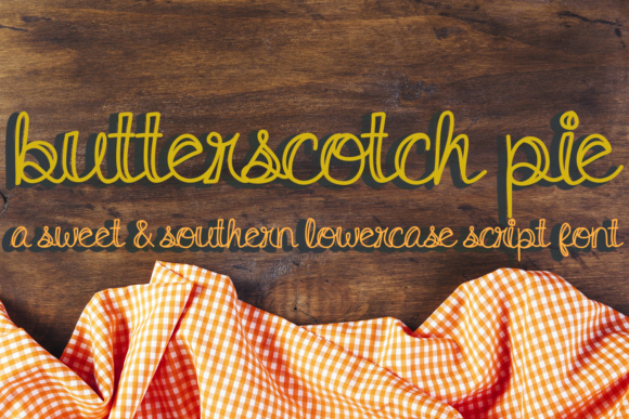 Print on Demand: Butterscotch Pie Script & Handwritten Font By Scout and Rose Design Co - Image 1