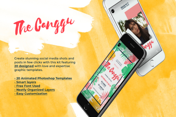 CANGGU-Tropical Instagram Stories Animated Graphic Presentation Templates By invasistudio - Image 2
