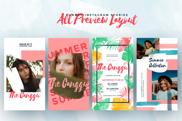 CANGGU-Tropical Instagram Stories Animated Graphic Presentation Templates By invasistudio - Image 6
