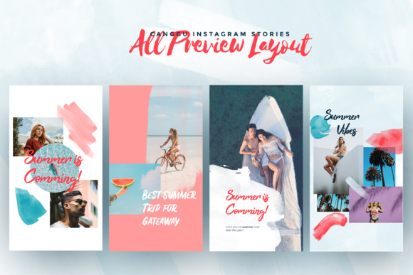 CANGGU-Tropical Instagram Stories Animated Graphic Presentation Templates By invasistudio - Image 8