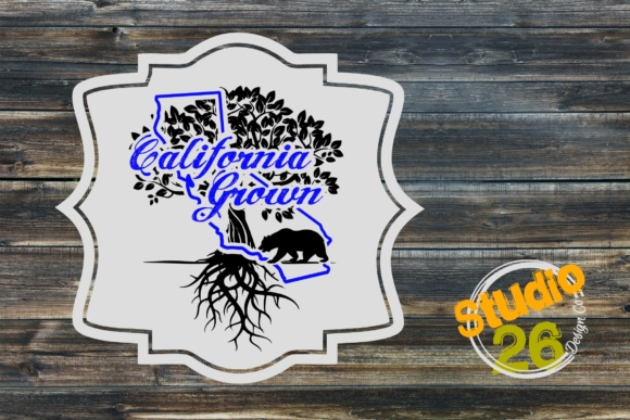California Grown Graphic Crafts By Studio 26 Design Co