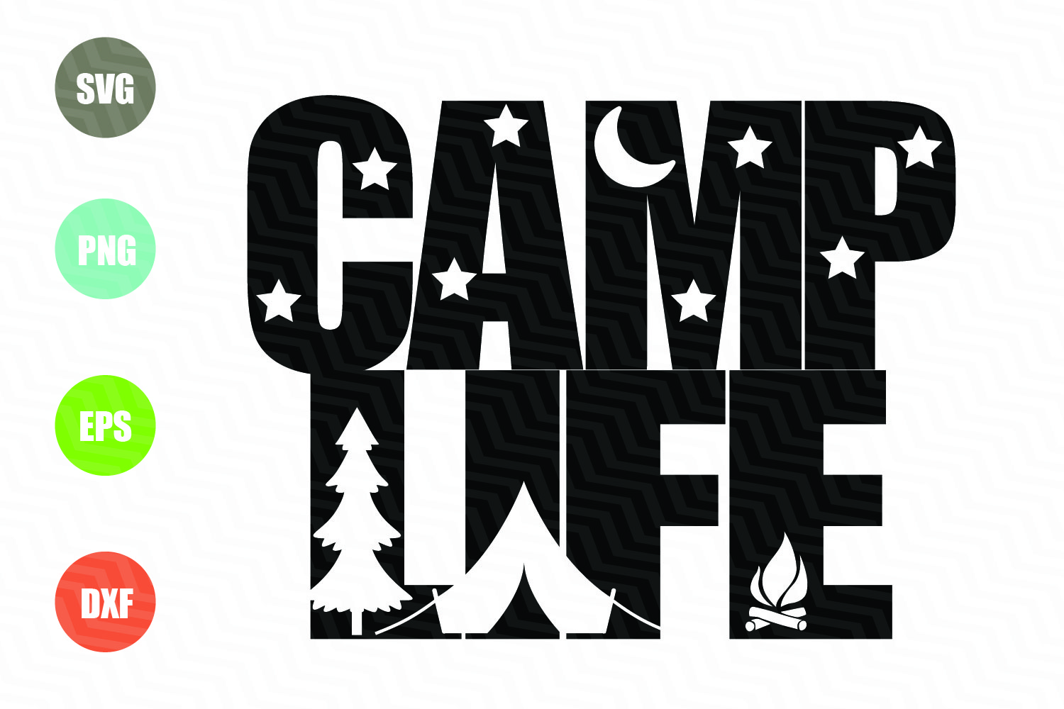 Home Decor Fabric Online Camp Life Svg File Graphic By Logotrain034 Creative Fabrica