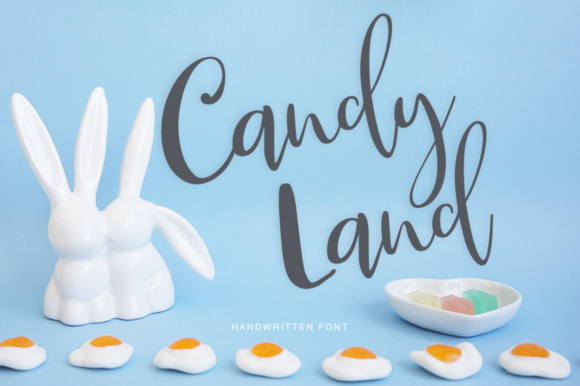 Print on Demand: Candy Land Script & Handwritten Font By Pasha Larin