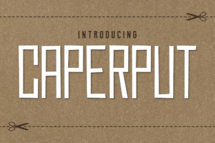 Caperput Display Font By Chequered Ink