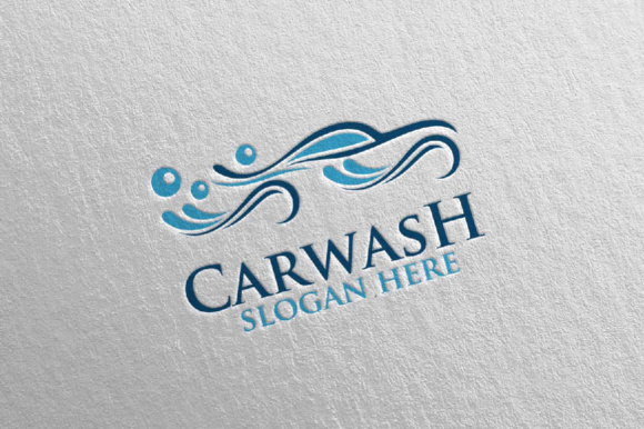 Car Wash Logo Graphic By Denayunecf Creative Fabrica
