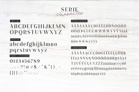 Print on Demand: Cest Lavie Duo Serif Font By Adam Fathony - Image 6