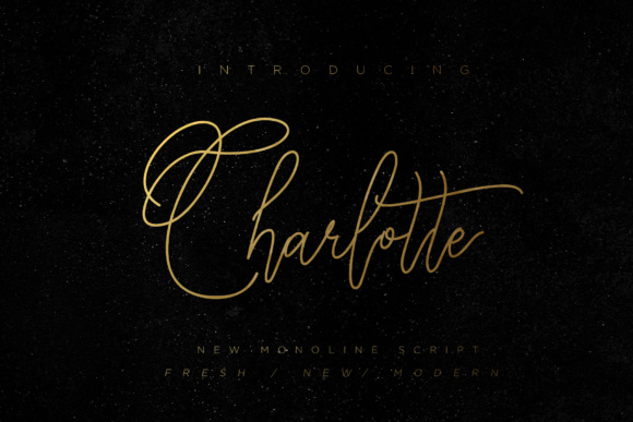 Print on Demand: Charlotte Script Script & Handwritten Font By Chocotype - Image 1