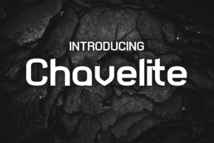 Print on Demand: Chavelite Display Font By Chequered Ink