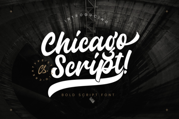 Print on Demand: Chicago Script Manuscrita Fuente Por CreatypeStudio