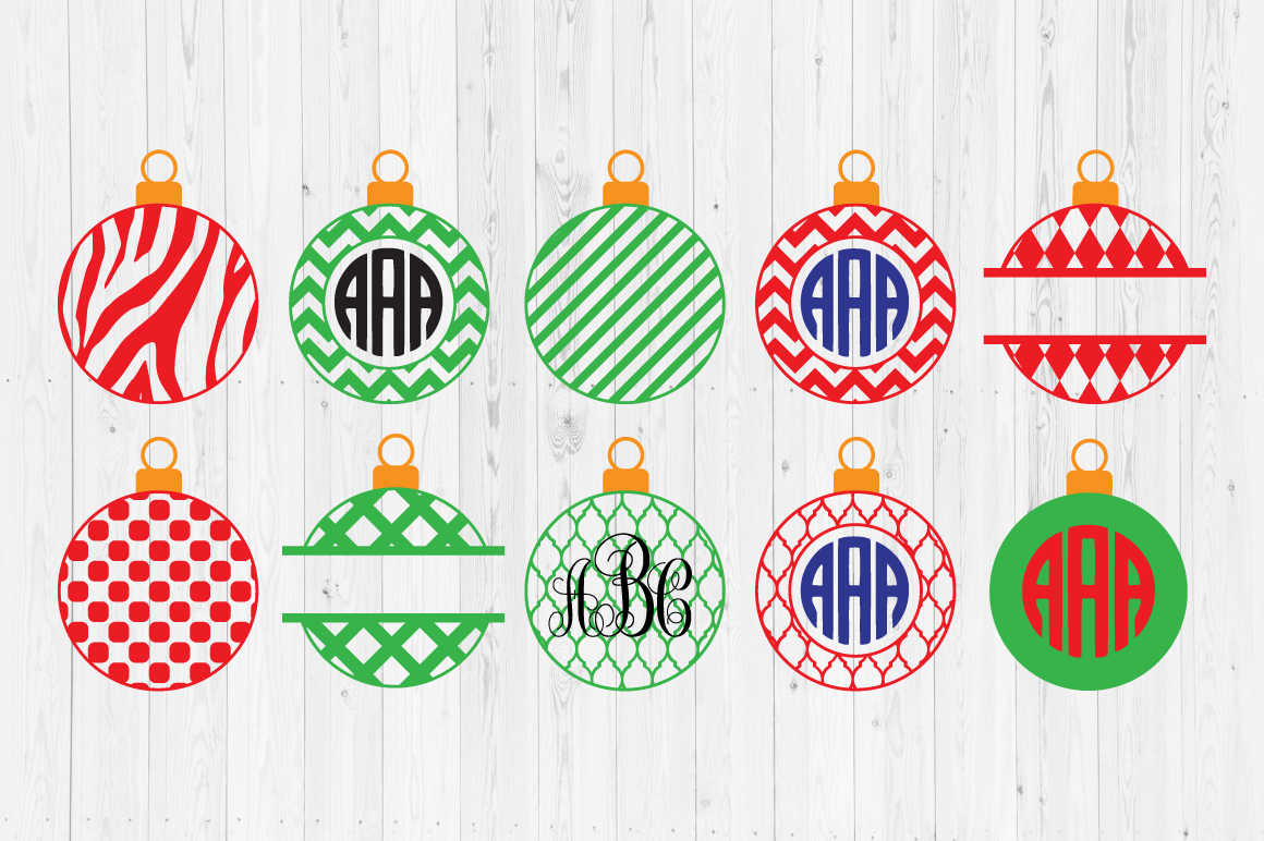 Download Free Christmas Ornament Cut Files Graphic By Cutperfectstudio for Cricut Explore, Silhouette and other cutting machines.