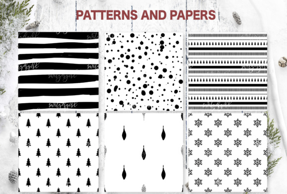 Christmas Seamless Patterns Graphic Patterns By switzershop - Image 2