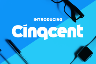 Cinqcent Display Font By Chequered Ink