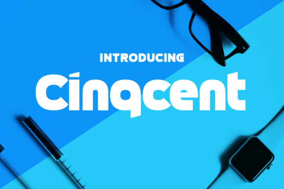 Print on Demand: Cinqcent Display Font By Chequered Ink - Image 1