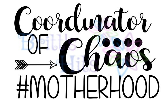 Download Free Coordinator Of Chaos Svg Graphic By Britt S Hits Creative Fabrica for Cricut Explore, Silhouette and other cutting machines.