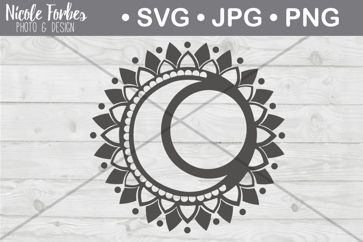 Download Free Cresent Moon Cut File Graphic By Nicole Forbes Designs for Cricut Explore, Silhouette and other cutting machines.