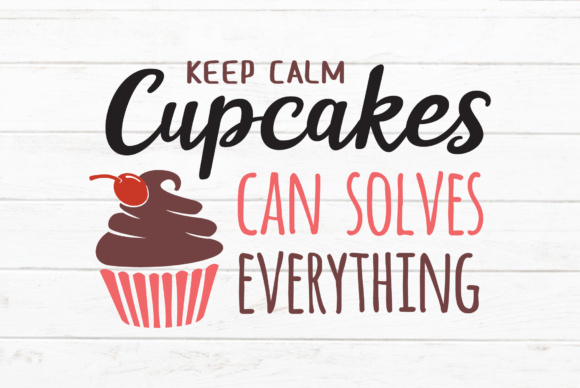 Download Free Cupcakes Quotes Svg Grafik Von Great19 Creative Fabrica for Cricut Explore, Silhouette and other cutting machines.