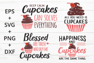 Cupcakes Quotes Graphic By Great19 Creative Fabrica