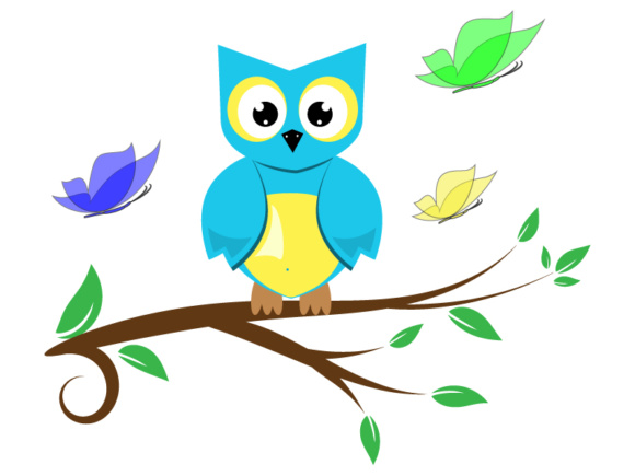 Download Free Cute Owl Vectors Vector File Cut Files Graphic By Goran for Cricut Explore, Silhouette and other cutting machines.