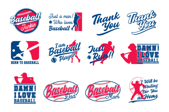 Cute & Sporty Graphic - Baseball Edition Graphic By Din Studio Image 2