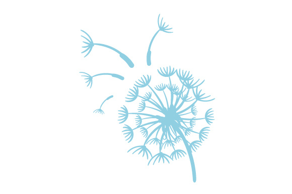 Dandelion Nature & Outdoors Craft Cut File By Creative Fabrica Crafts