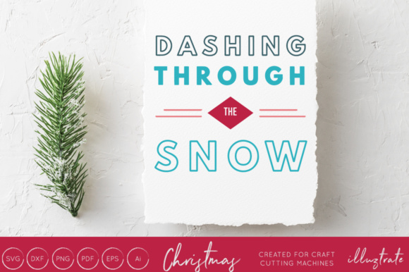 Print on Demand: Dashing Through the Snow Graphic Crafts By illuztrate