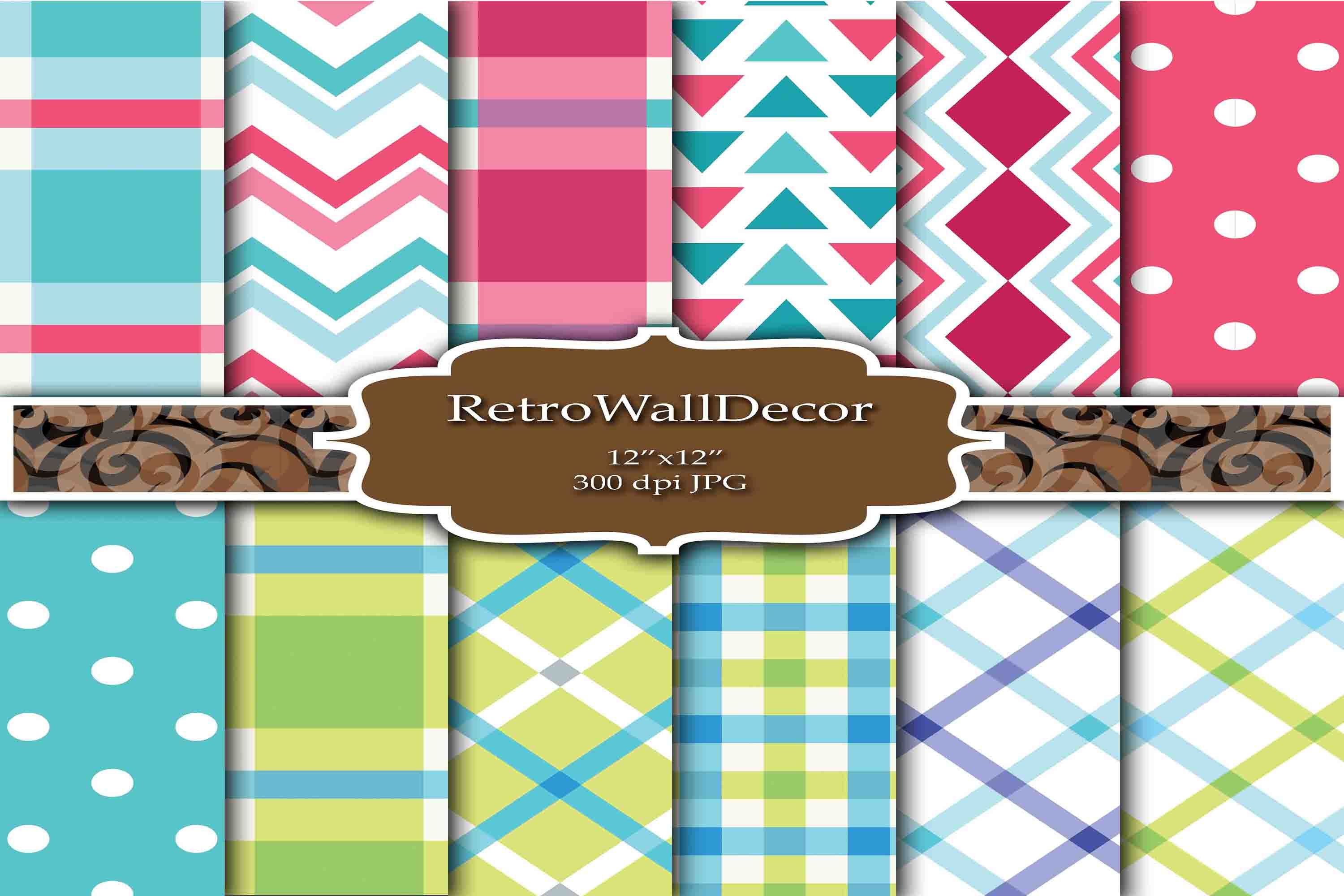 Download Free Decoupage Papers Graphic By Retrowalldecor Creative Fabrica for Cricut Explore, Silhouette and other cutting machines.