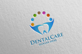 Download Free Dental Logo Dentist Stomatology Logo Design 24 Graphic By for Cricut Explore, Silhouette and other cutting machines.