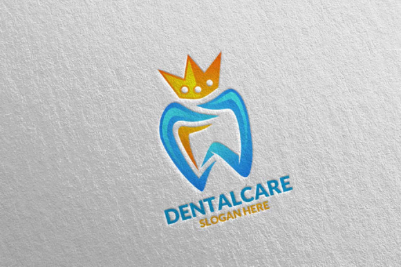Download Free Dental Logo Dentist Stomatology Logo Design 14 Graphic By for Cricut Explore, Silhouette and other cutting machines.