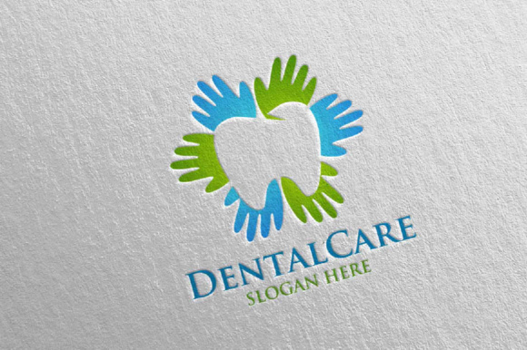 Download Free Dental Logo Dentist Stomatology Logo Design 8 Graphic By for Cricut Explore, Silhouette and other cutting machines.