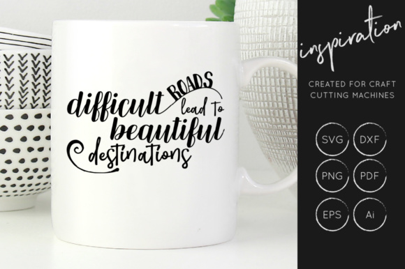 Print on Demand: Inspirational Quotes Bundle Graphic Crafts By illuztrate - Image 2