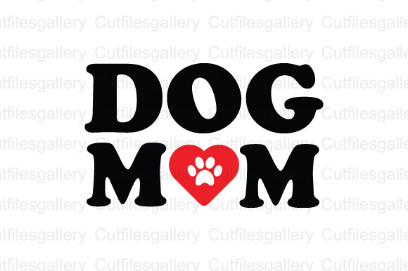 Download Free Dog Mom Cut File Graphic By Cutfilesgallery Creative Fabrica for Cricut Explore, Silhouette and other cutting machines.
