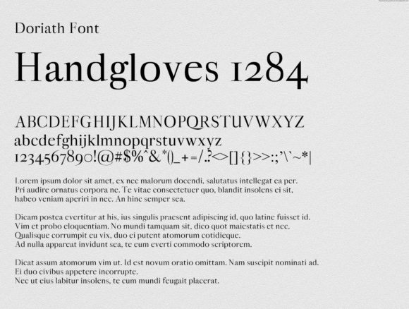 Doriath Font By Creative Fabrica Freebies Image 2