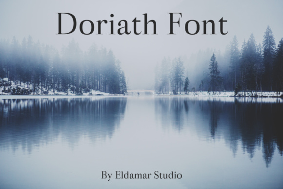 Print on Demand: Doriath Script & Handwritten Font By Creative Fabrica Freebies