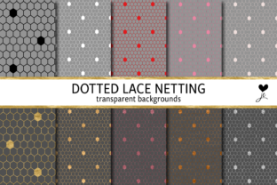Dotted Lace Netting Graphic By JulieCampbellDesigns