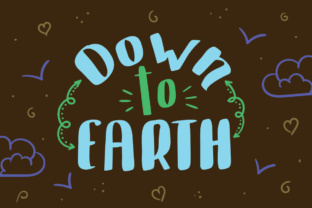 Print on Demand: Down to Earth Display Font By Lickable Pixels
