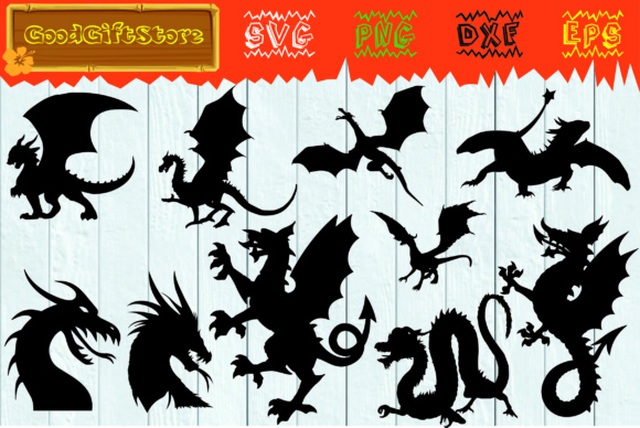 Dragon Bundle Graphic Crafts By PieDesigner