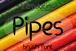 EP Pipes Font By Emily Penley Fonts