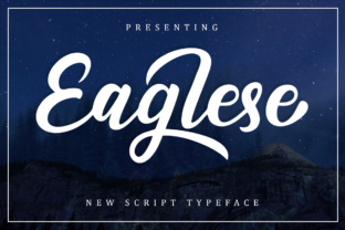 Eaglese Font By Musafir LAB