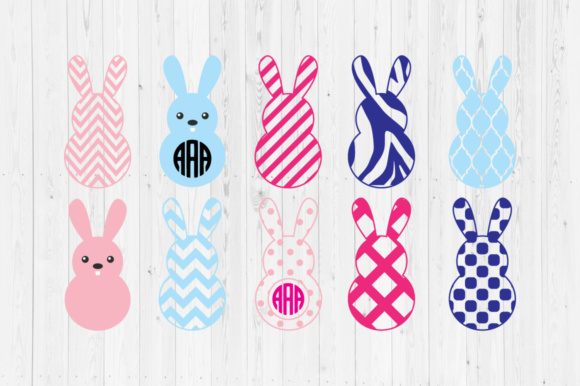 Download Free Easter Bunny 2 Svg Cut Files Graphic By Cutperfectstudio for Cricut Explore, Silhouette and other cutting machines.