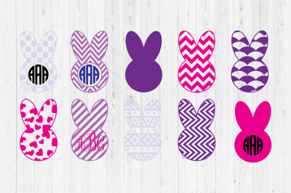 Easter Bunny 3 SVG Cut Files Graphic Crafts By Cutperfectstudio