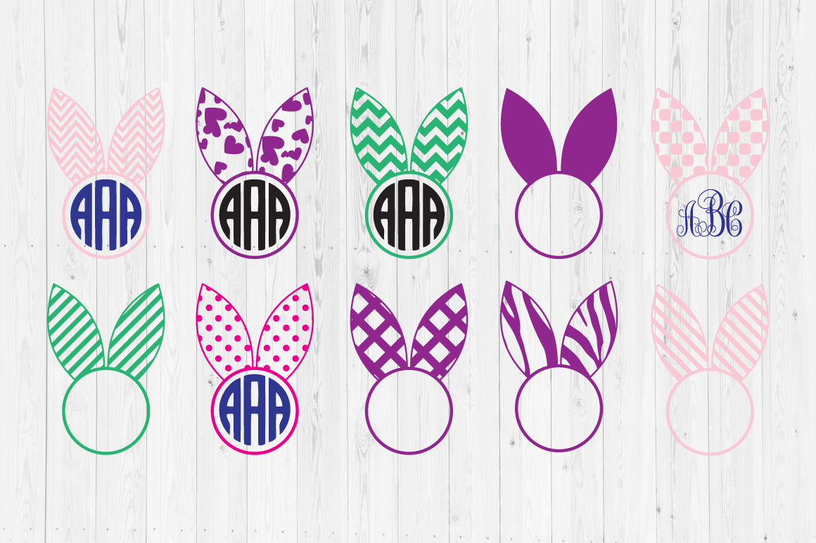 Download Free Easter Bunny Ears Svg Cut Files Grafik Von Cutperfectstudio for Cricut Explore, Silhouette and other cutting machines.