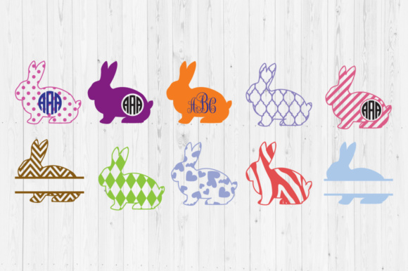 Download Free Easter Bunny Cut Files Graphic By Cutperfectstudio Creative SVG Cut Files