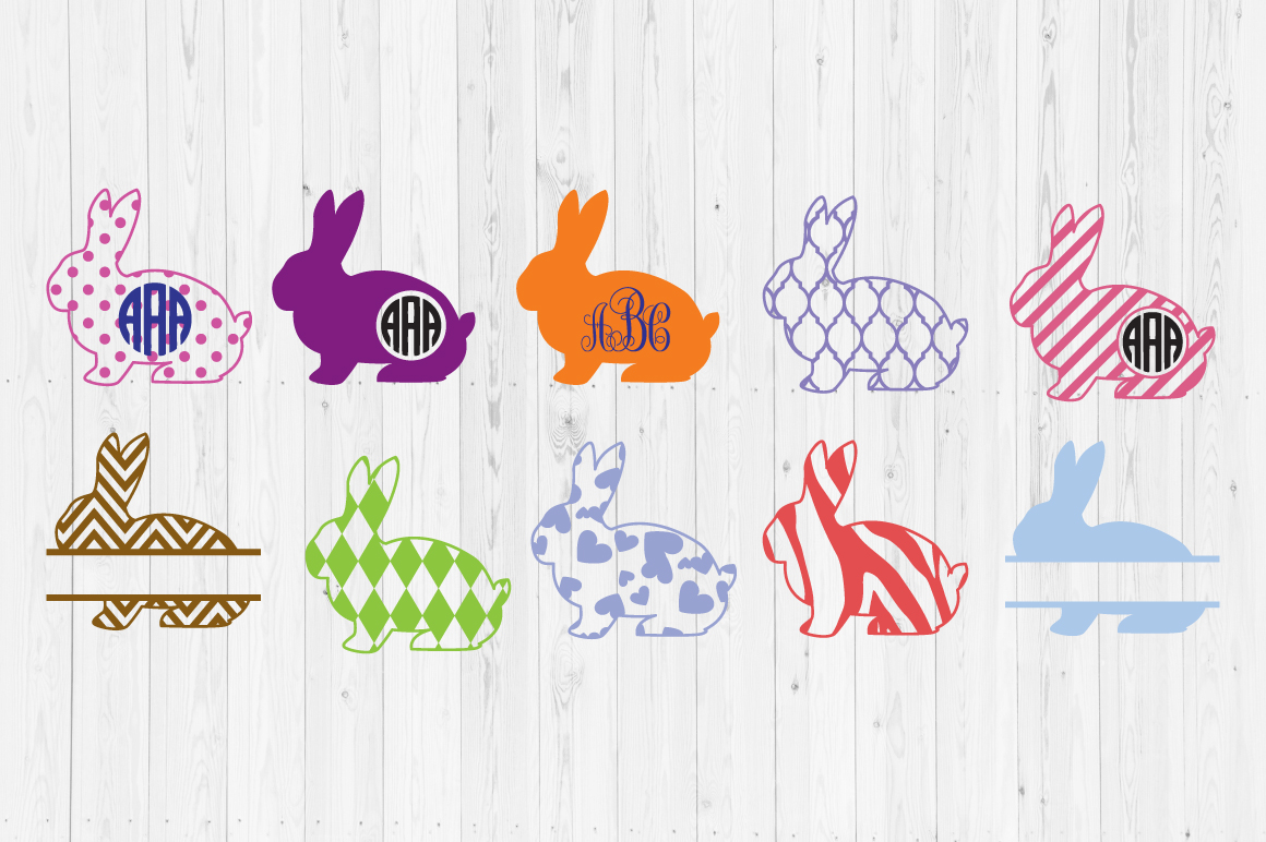 Download Free Easter Bunny Cut Files Graphic By Cutperfectstudio Creative for Cricut Explore, Silhouette and other cutting machines.