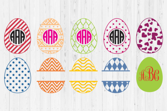 Download Free Easter Eggs Graphic By Cutperfectstudio Creative Fabrica for Cricut Explore, Silhouette and other cutting machines.