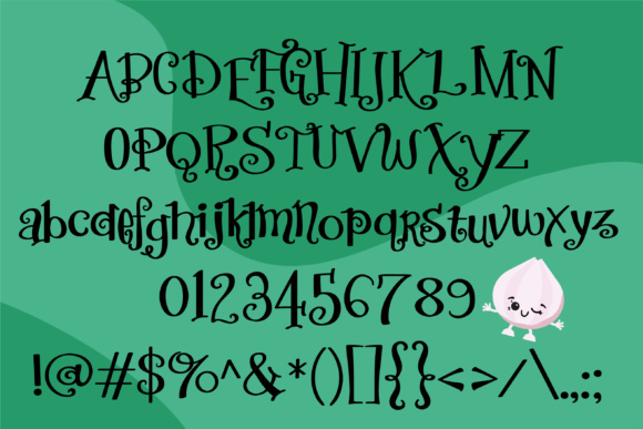 Print on Demand: Eat Your Vegetables Script & Handwritten Font By Illustration Ink - Image 2
