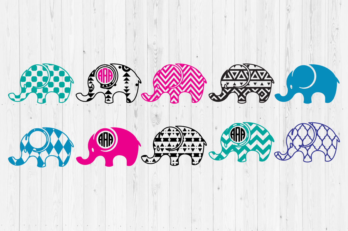 Download Free Elephant 2 Graphic By Cutperfectstudio Creative Fabrica for Cricut Explore, Silhouette and other cutting machines.