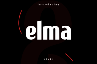 Elma Font By mrkhoir012