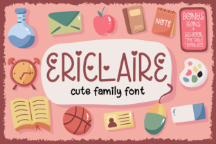 Ericlaire Font By Caoca Studios