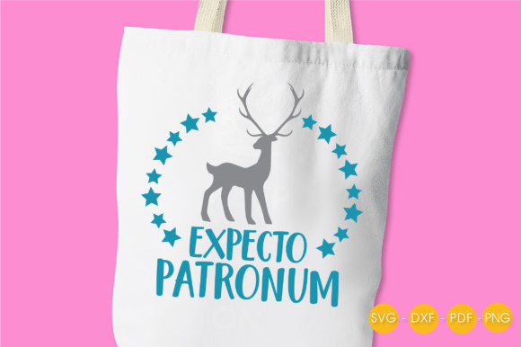 Download Free Expecto Patronum Graphic By Prettycuttables Creative Fabrica for Cricut Explore, Silhouette and other cutting machines.